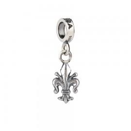 Bead charm Giglio di Firenze in argento