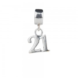 Bead charm 21 anni in argento