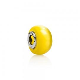 Bead vetro giallo