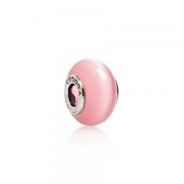 Bead vetro rosa