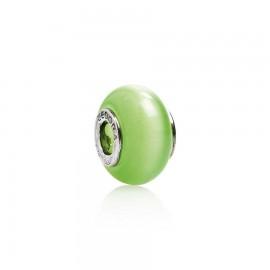 Bead vetro verde menta