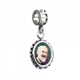 Bead charm Padre Pio