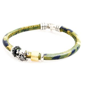 Bracciale pirates con teschio