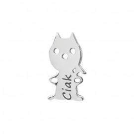 Gatto in argento