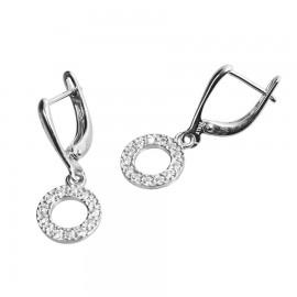 orecchini con cerchio
