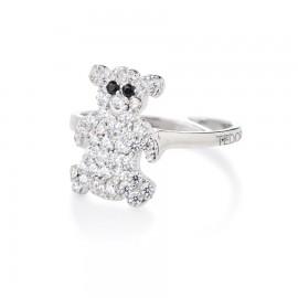anello con orsacchiotto