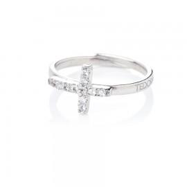 anello con croce