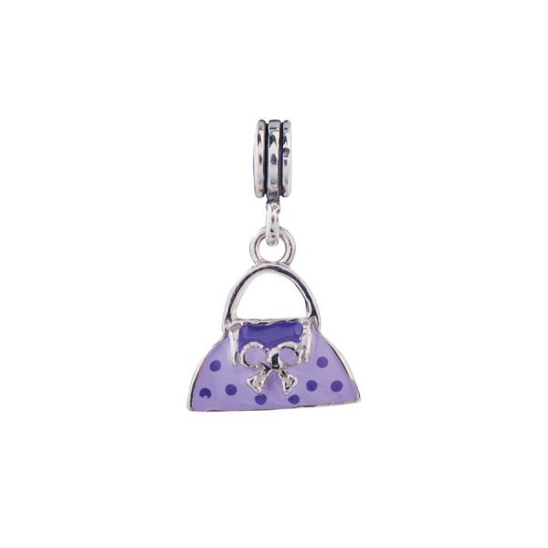 Bead charm in argento -Sterling silver bead charm
